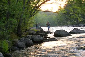adirondack fly fishing image