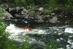 river kayaks image